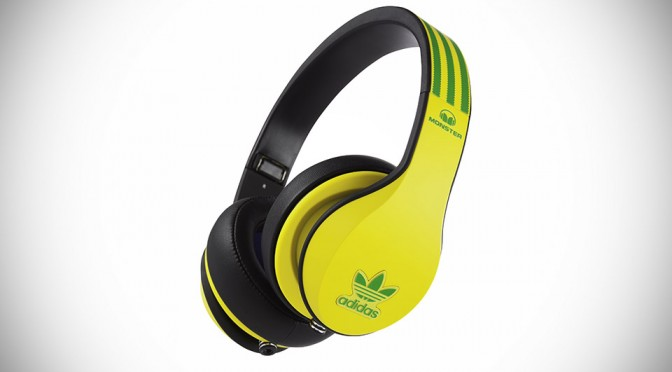 Adidas Teams Up With Monster To Create Limited Edition Headphones