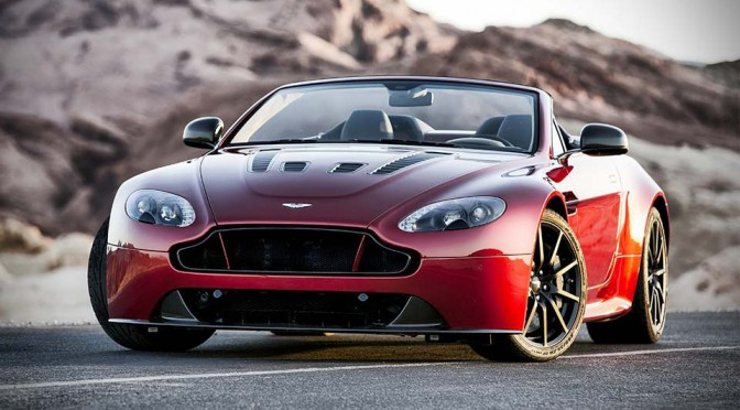 Aston Martin Unveils The Quickest Droptop To Date, The V12 Vantage S Roadster