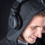 Audio Engineer's Hoodie Has Its Hood Made From Speaker Fabric