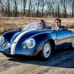 This Porsche 356 Look-A-Like Is The Netherlands' 350KG All-Electric Roadster