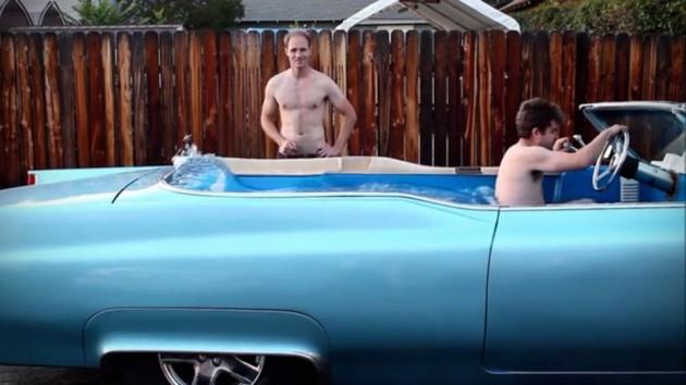Carpool Deville Drivable Mobile Hot Tub