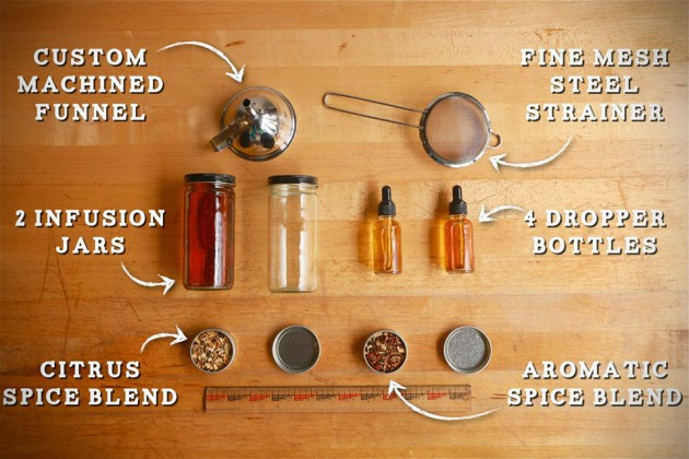 Craft Your Own Bitters Kit By Hella Bitter