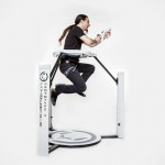 You Can Crouch, Kneel, Jump And Even Sit With The Cyberith Virtualizer Virtual Reality Rig