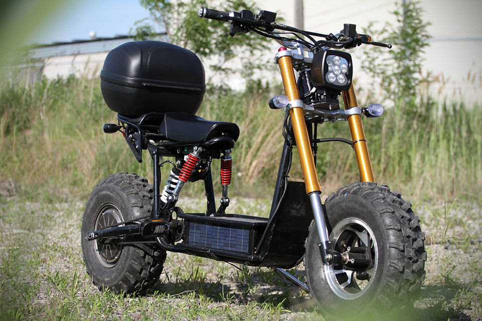 The Beast Self Charging Off Road Electric Bicycle Wants To Own The