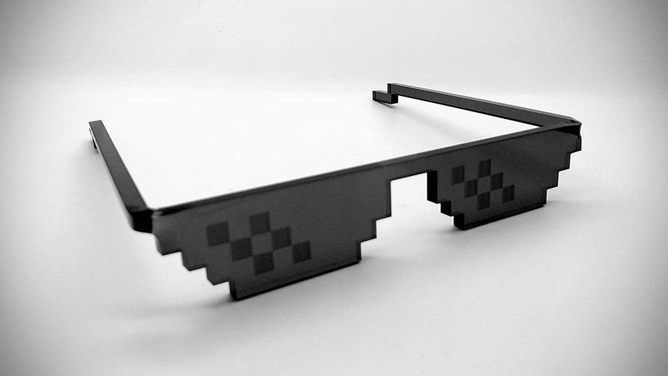 Are You Able To Deal With Pixelated Sunglasses?