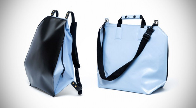 The Fugu Bag Uses Air Pockets To Keep Your Gadgets Safe