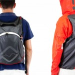 One Less Thing To Carry: A Backpack With A Built-in Rain Jacket
