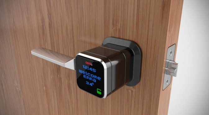 Genie Smart Lock Is The First Smart Lock To Boast 12 Months Of Battery Life