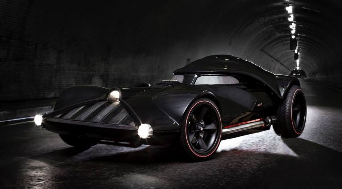 If Darth Vader Had A Car, This Is What It Will Look Like