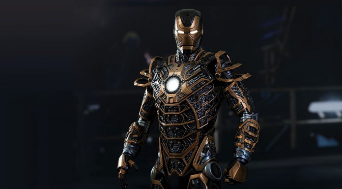 Hot Toys Iron Man 3 Mark XLI Bones Boasts Magnetic Limbs, Complete With Trailing 'Flames'