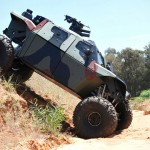 Israel's Next-Gen Armor Fighting Vehicle Looks Like A Post-Apocalyptic Rock Crawler
