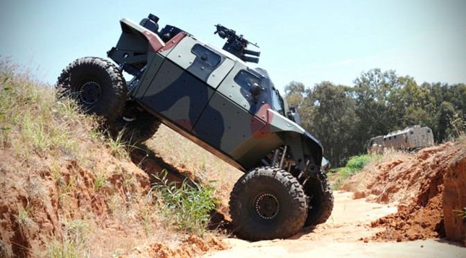 Israel Military Industries Combat Guard AFV