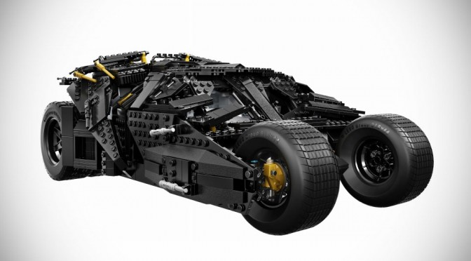 Finally! The Tumbler From The Dark Knight Gets Official LEGO Ultimate Collector's Set