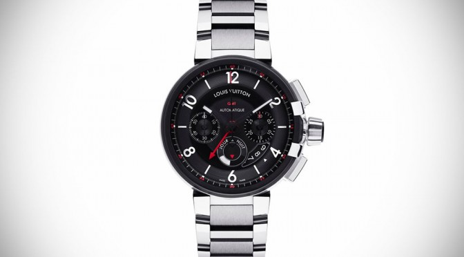 Louis Vuitton Tambour Evolution Chrono GMT