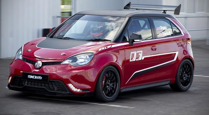 MG MG3 Trophy Championship Concept
