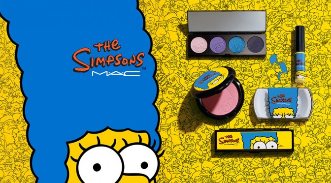 MAC Collaborates With The Simpsons To Out Makeup Collection