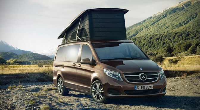 Mercedes-Benz Introduces New Marco Polo Camper Van, Book Opens Late July In Germany