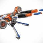 NERF Rhino-Fire Will Rain 50 Darts At Your Foes From Up To 90 Feet