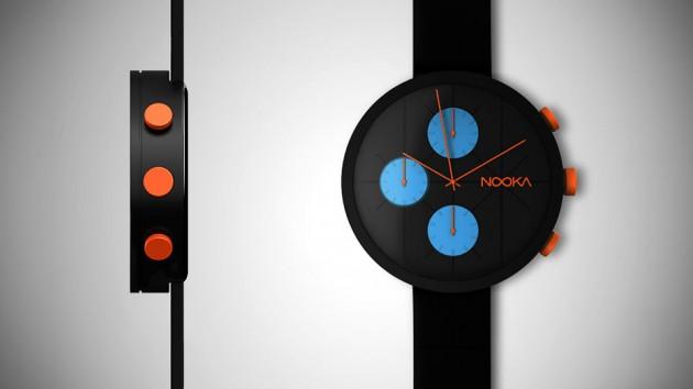 NOOKA NOOKRONO Chronograph Watch