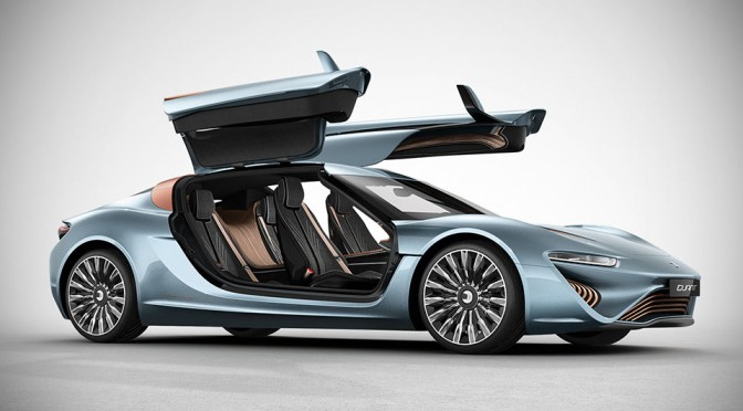 NanoFLOWCELL 912 HP Quant e-sportlimousine Feeds On Salt Water