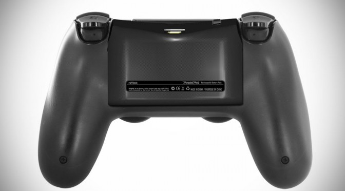 Nyko PowerPak Offers Additional 1,000 mAh Battery For Your PS4 DualShock 4 Controller
