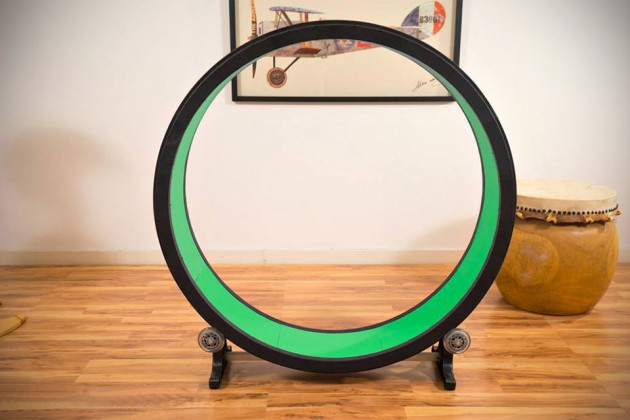 One Fast Cat Exercise Wheel For Cats