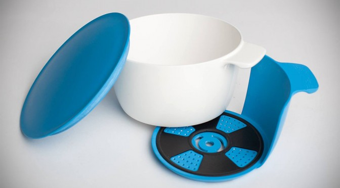 OneBowl Lets You Cook, Strain, Eat, And Store With Just One Bowl