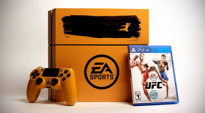 Playstation 4 Bruce Lee/UFC Edition