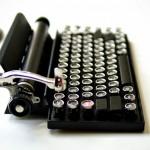 Qwerkywriter Goes Old School, Lends Vintage Typewriter Design To Modern Day Keyboard