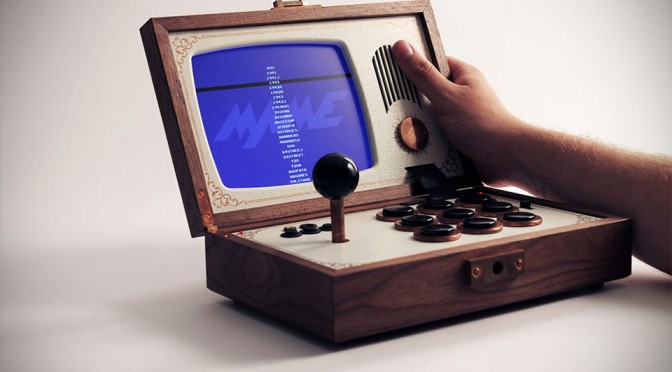 R-Kaid-R Portable Arcade Lets You Take Your Arcade Gaming Anywhere