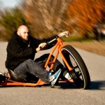 Motorized Big Wheel Drift Trike: 6.5HP And Massive 26-inch Wheel. Need We Say More?