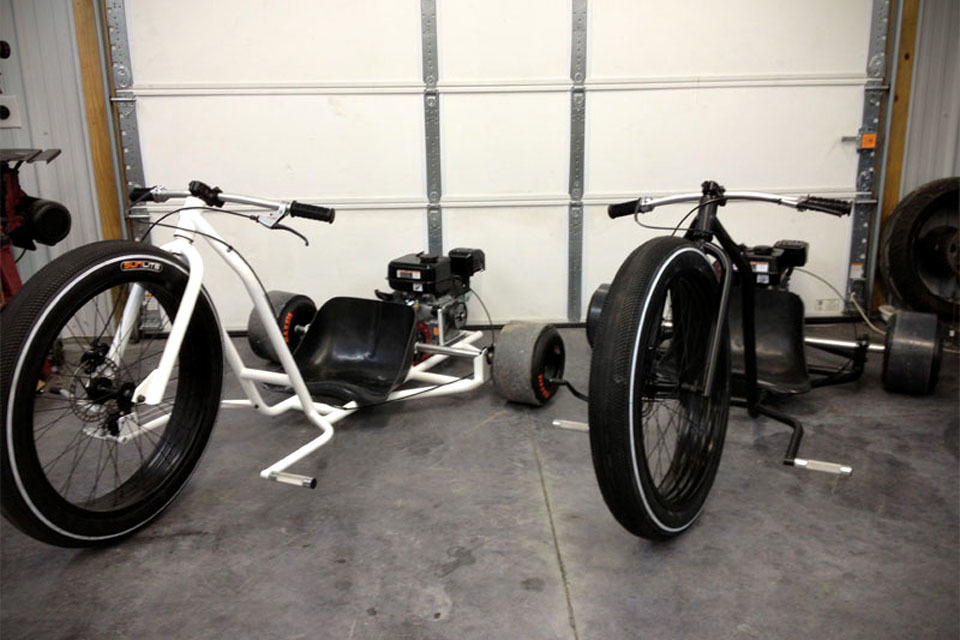 SFD Industries Big Wheel Drift Trike