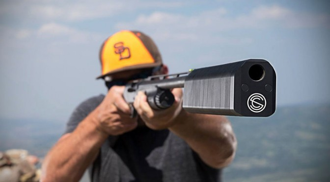 Salvo 12 Shotgun Suppressor by SilencerCo