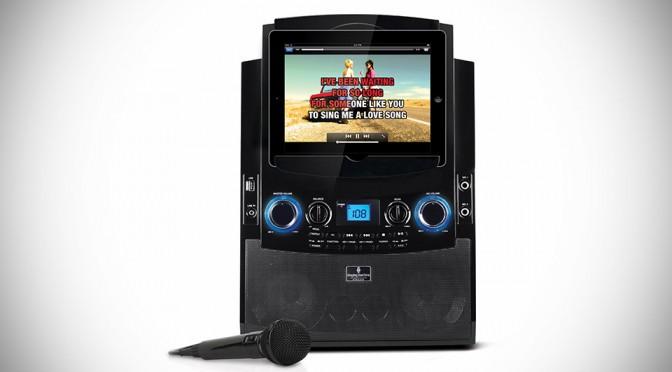Singing Machine iSM990BT Karaoke System For iPad