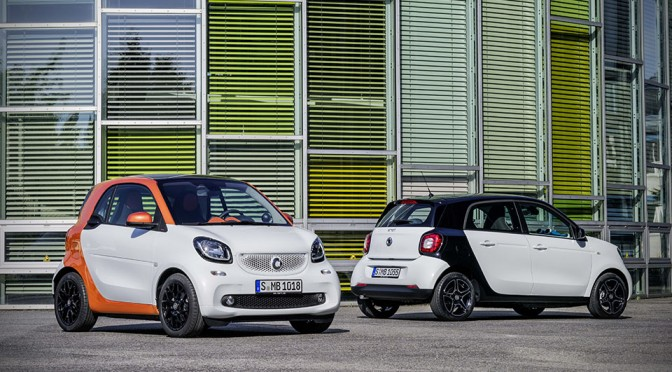 Smart Fortwo 2014 and Smart ForFour 2014