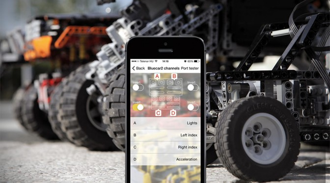 SmartBrick Adds Bluetooth To Your LEGO Technic, Boasts 300 Feet Range