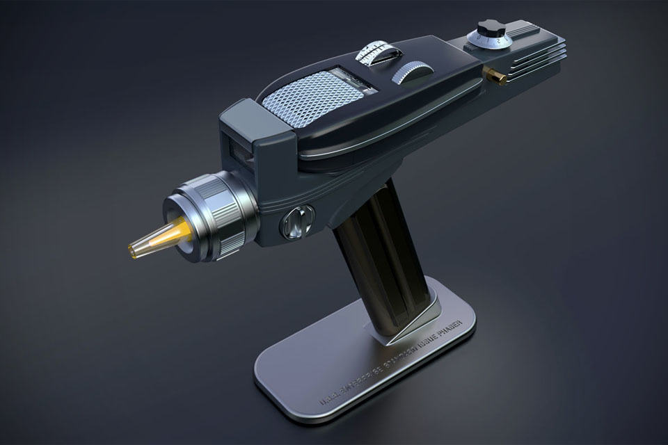 This Phaser Replica Lets You Switch Channels Like A U S S
