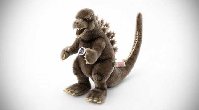 This Limited Edition Godzilla Plush Toy Will Cost You 500 Bucks