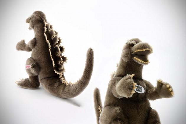 Steiff x Godzilla Plush Toy