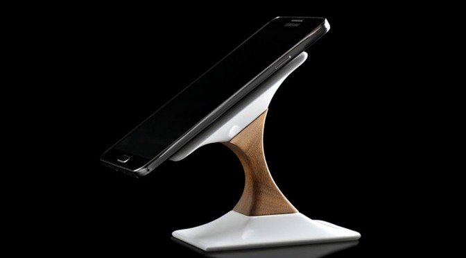 Swich Is A Super Stylish Stand With Qi Wireless Charging Built Into It