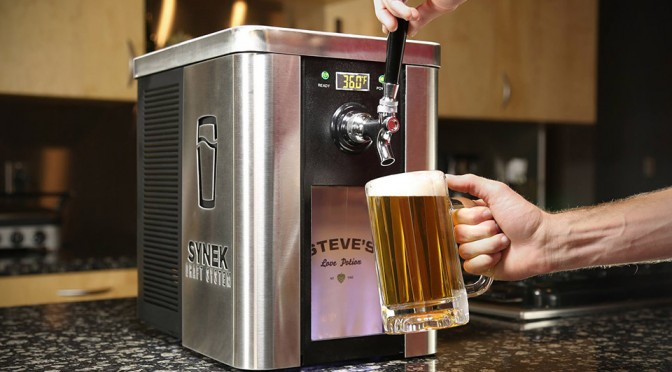 Synek Brings Draft Beer To Your Countertop With More Variety Than You Can Drink