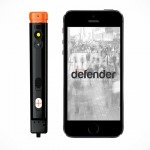 The Defender Connects To Your Smartphone, Snaps An Image As You Pepper Spray The Assailant