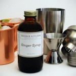 This Is Broquet's Take Of The Moscow Mule Cocktail, Lovely Copper Mugs Included