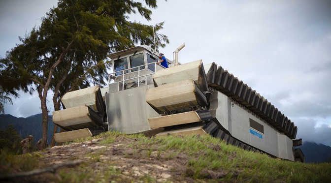 U.S. Marine's Ultra Heavy-Lift Amphibious Connector