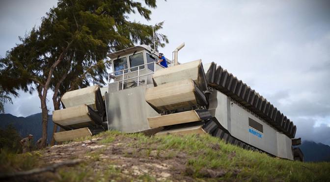 U.S. Marines Would-Be Amphibious Transporter Looks Like A Doomsday Machine