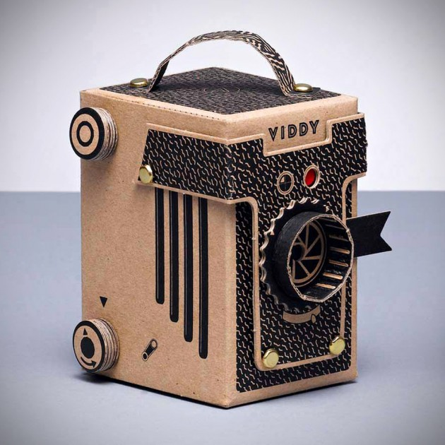 VIDDY DIY Cardboard Pinhole Camera Kit