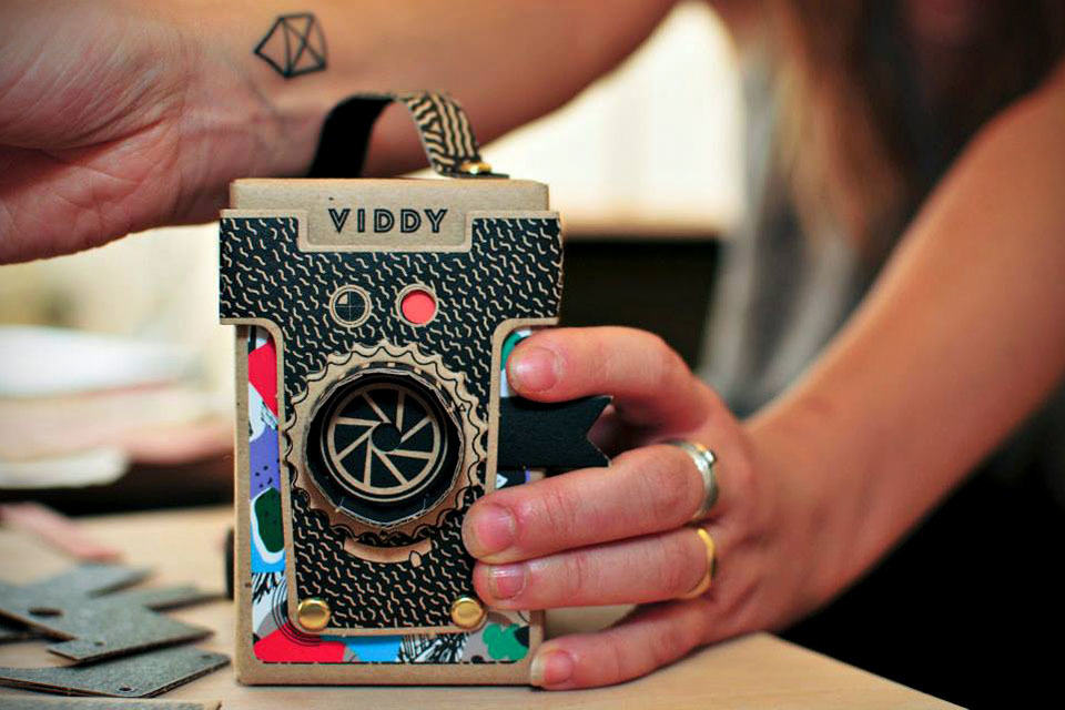 VIDDY Is A Working, Flatpack Pinhole Camera That You Can ...