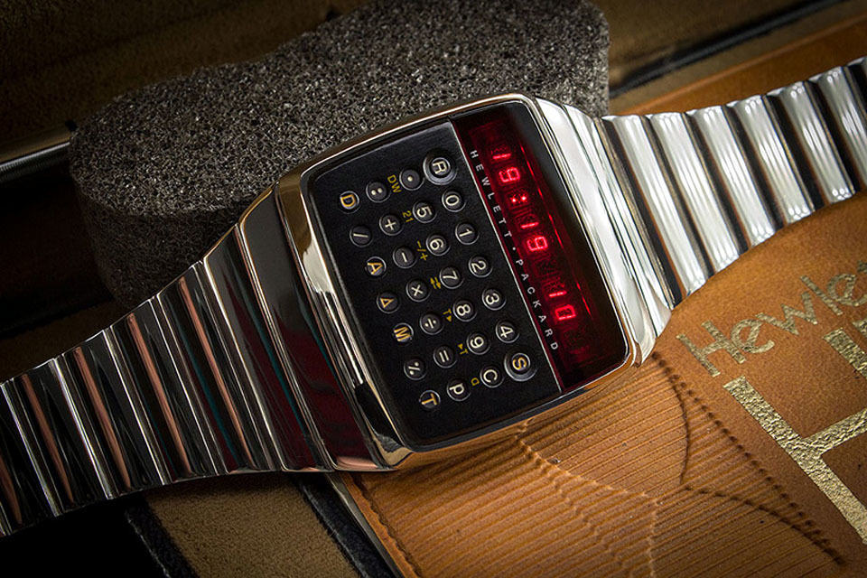 This 1977 HP LED Calculator Watch Is Probably The ...