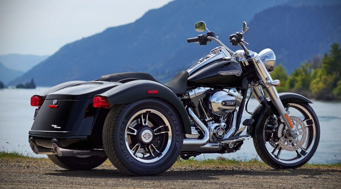 2015 Harley-Davidson Freewheeler Trike – A Touring Bike With Cargo Space, But With A Pricey Start