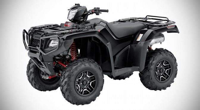 Honda FourTrax Foreman Rubicon 4×4 Gets Updated For 2015 With No Less Than 6 Versions